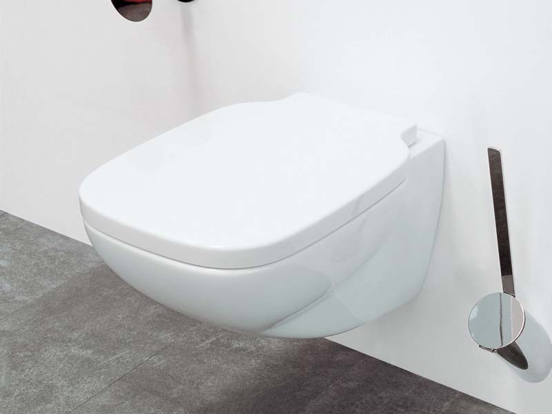 Wall-hung ceramic toilet SPRINT | Wall-hung toilet by CERAMICA FLAMINIA