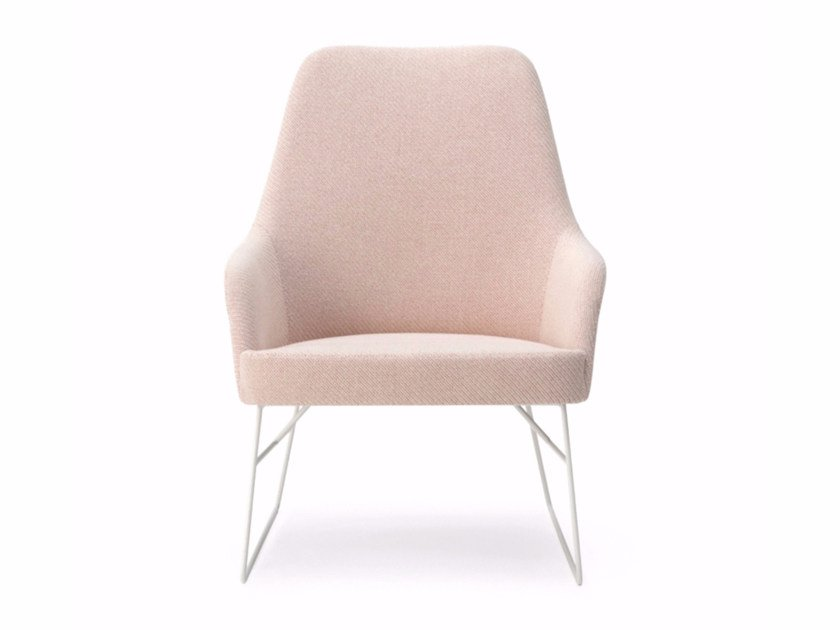 Bergere armchair with armrests SPY | Armchair by BILLIANI