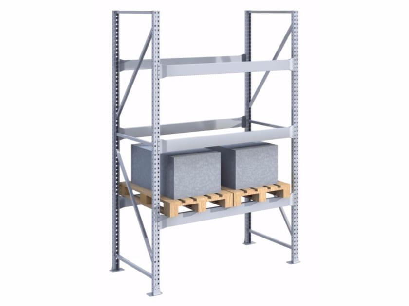 Galvanized steel shelveing system SPZ181030.15 by Castellani.it