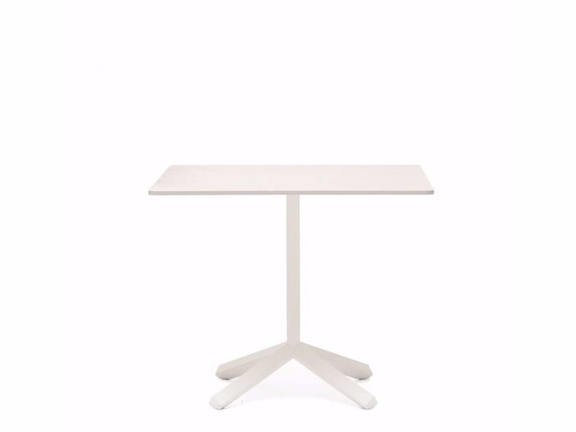 Square MDF coffee table FLAMINGO | Square coffee table by Emmegi