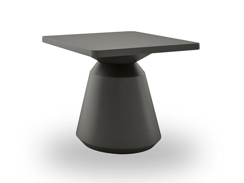 Lacquered square MDF coffee table CITY | Square coffee table by EXENZA