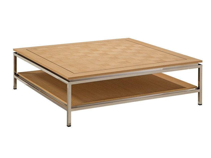 Square coffee table for living room EPOQ | Square coffee table by ROCHE BOBOIS