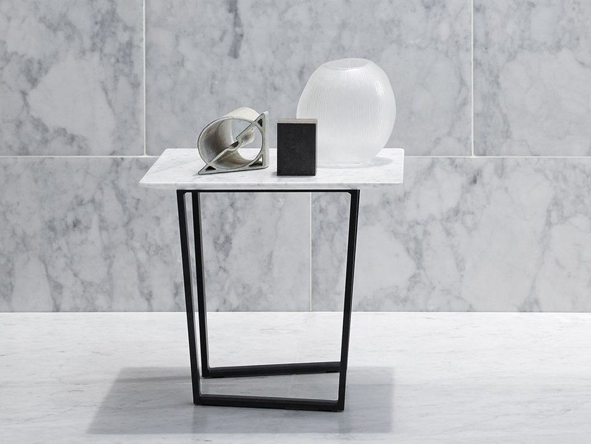 Square marble coffee table DRITTO | Square coffee table by SALVATORI
