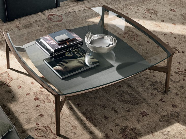 Square coffee table for living room BLOOM | Square coffee table by Gruppo Tomasella