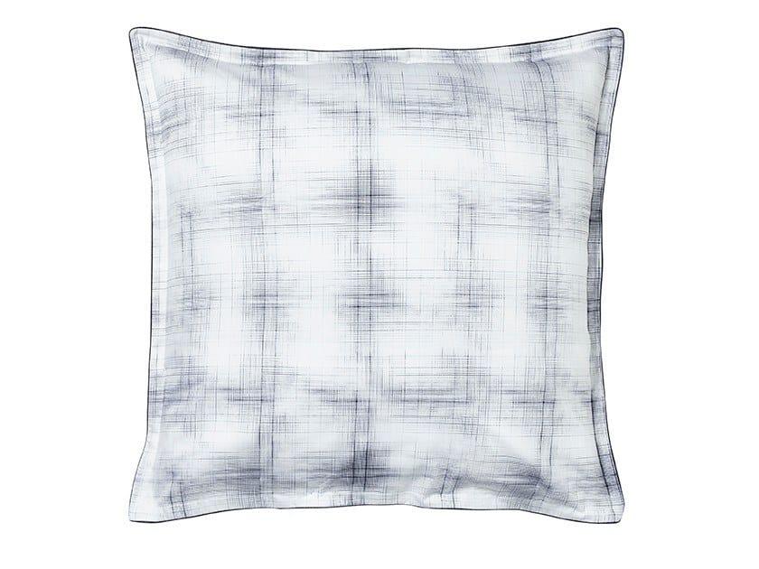Check cotton pillow case EMPREINTES   Pillow case by Alexandre Turpault