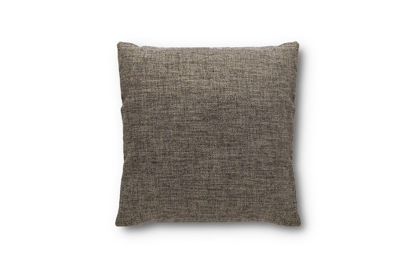 Solid-color square fabric cushion Square cushion by Felis