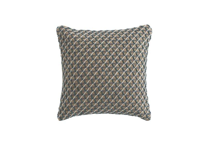 Square jute cushion RAW | Square cushion by GAN