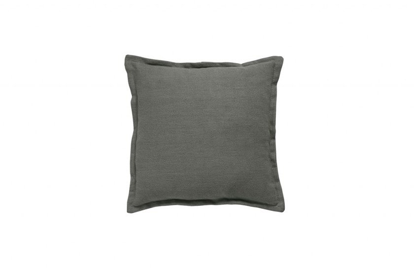 Solid-color square fabric cushion Square cushion by Gruppo Tomasella