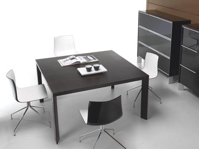 Square meeting table IN | Square meeting table by BALMA