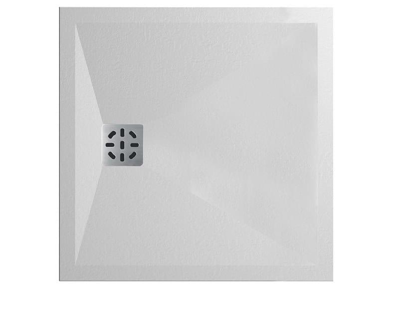 Piatto doccia quadrato in Kstone CLIFF | Piatto doccia quadrato by Karol