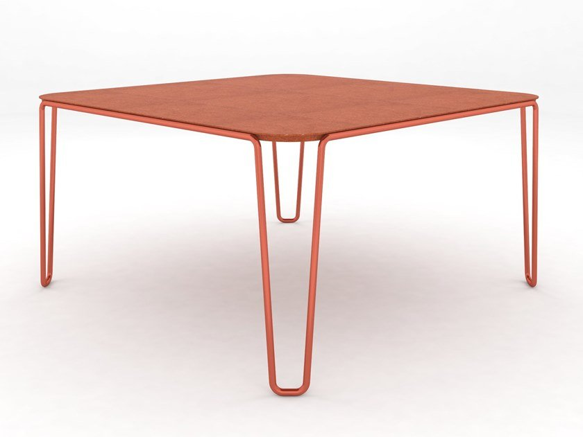 Square table FIRST | Square table by BALERI ITALIA
