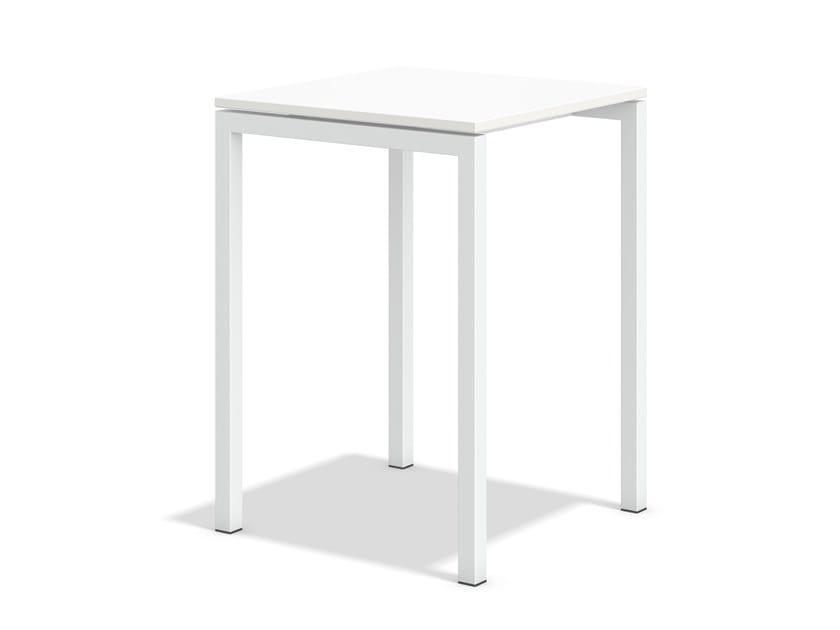 Quadratischer Hochtisch BOXTER | Quadratischer Tisch by Casala