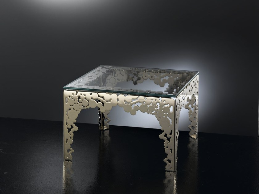 Square living room table BUBBLES | Square table by IDL EXPORT