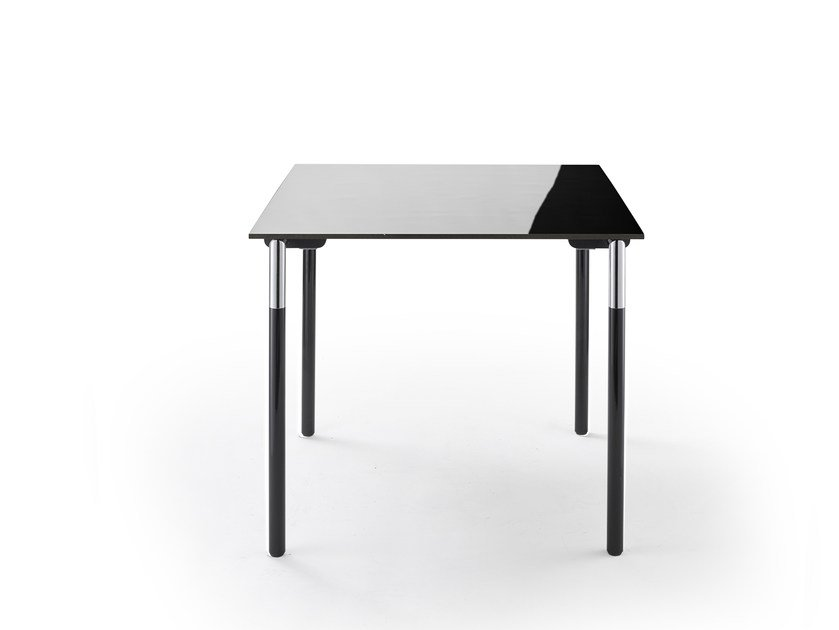 Folding square table SYSTEM 24 | Square table by rosconi