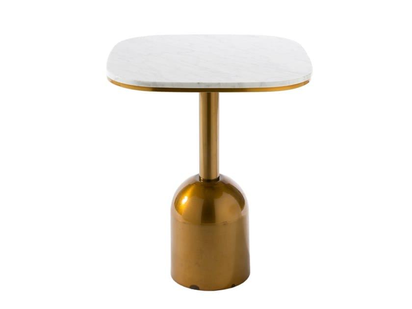 Square marble contract table BALOK | Square table by Vela Arredamenti