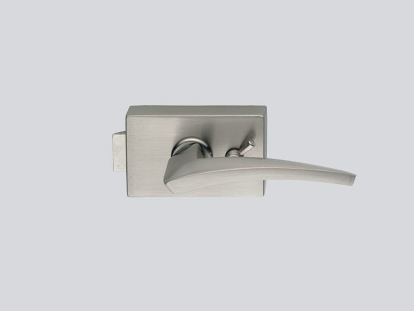 Glass door lock SQUARE V-700 by Metalglas Bonomi