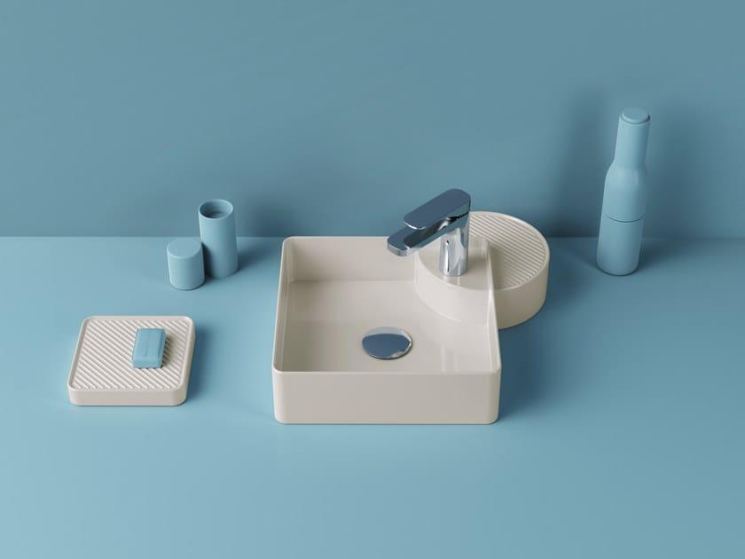 CARTESIO | Lavabo quadrato