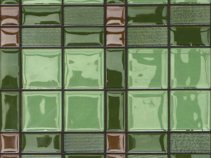 Glass mosaic SQUARRY by VETROVIVO