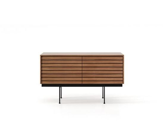 Wooden sideboard with doors SSX211 | Sideboard by Punt