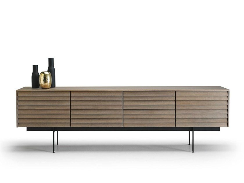 Wooden sideboard with doors SSX411 | Sideboard with doors by Punt