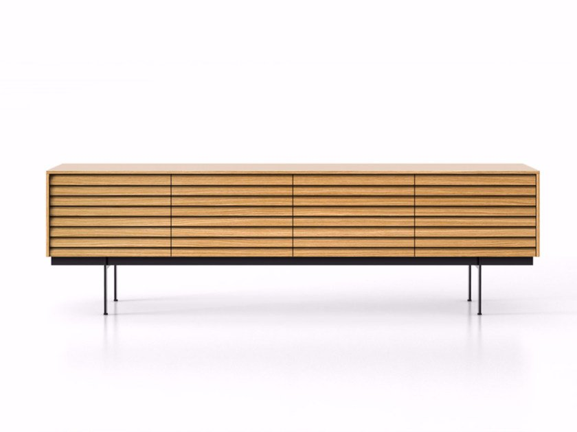 Wooden sideboard with drawers SSX412 | Sideboard with drawers by Punt