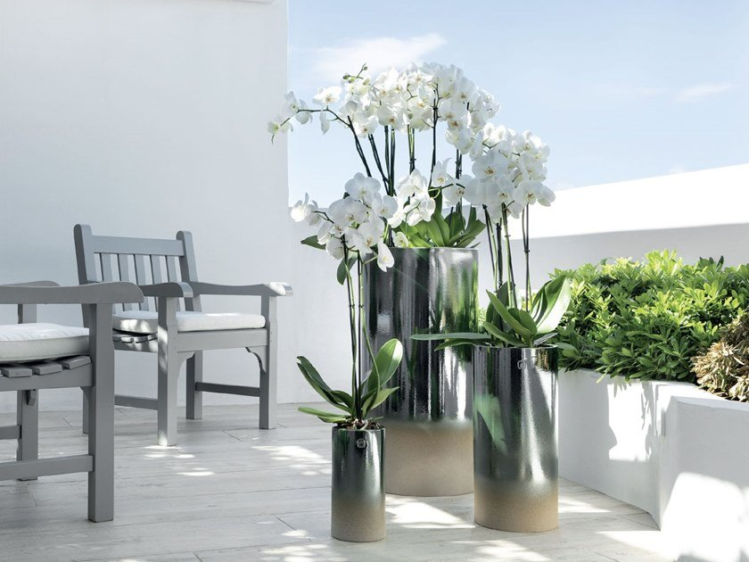 Ceramic vase ST. BARTH by Pot à Porter