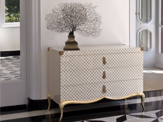 Wooden chest of drawers ST127 | Chest of drawers by Rozzoni