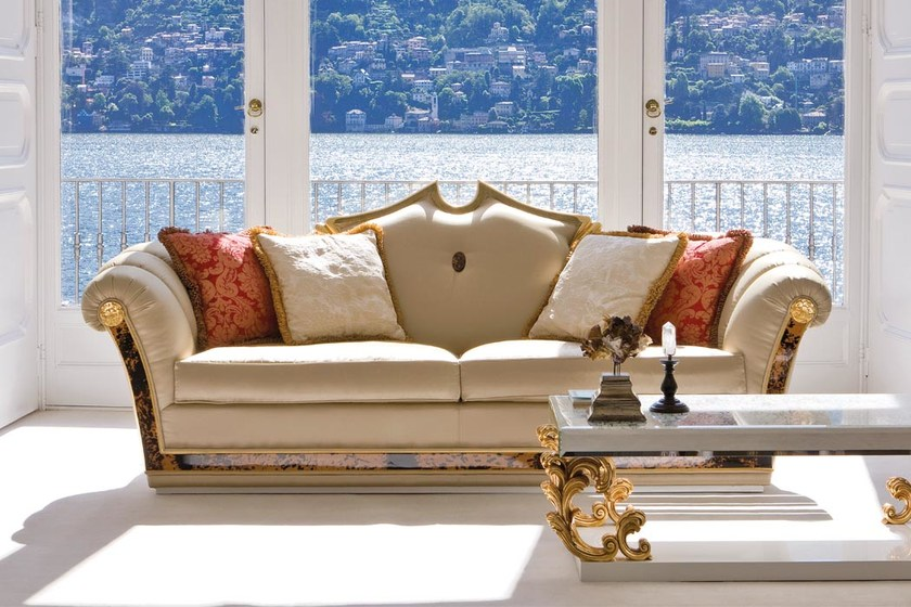 Upholstered fabric sofa ST131 | Sofa by Rozzoni