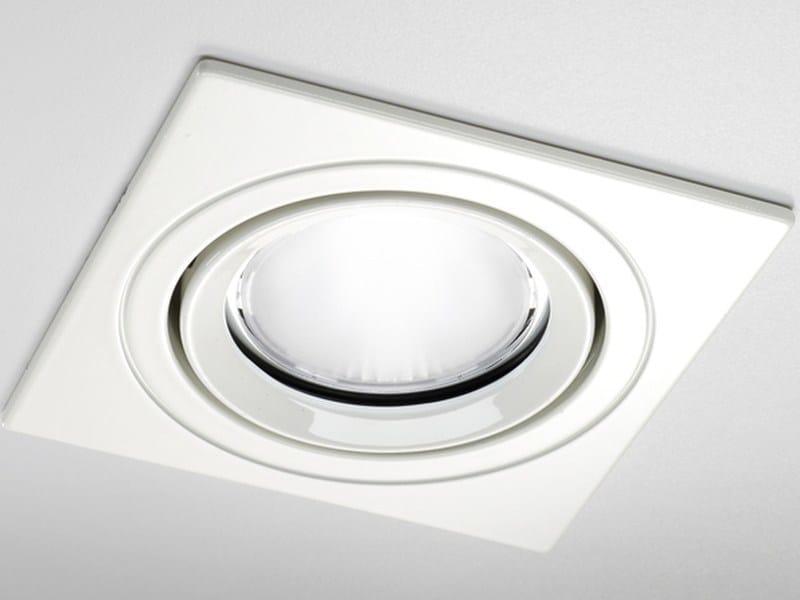 LED adjustable square spotlight ST85Q by PURALUCE