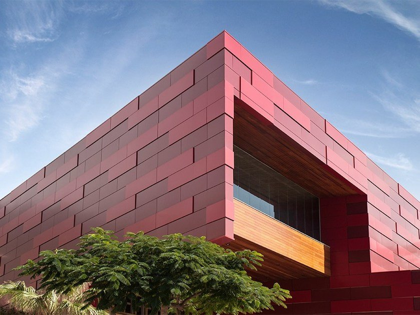 Composite material facade panel STACBOND®PE by STAC