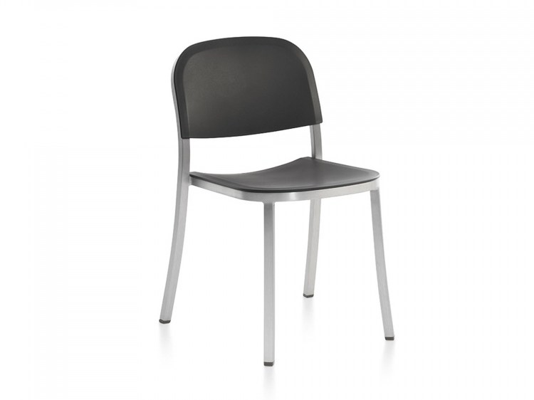 Stackable polypropylene chair 1 INCH | Stackable chair by Emeco