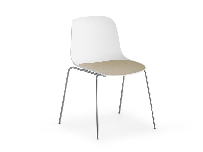 Stackable polypropylene chair SEELA | Stackable chair by Lapalma