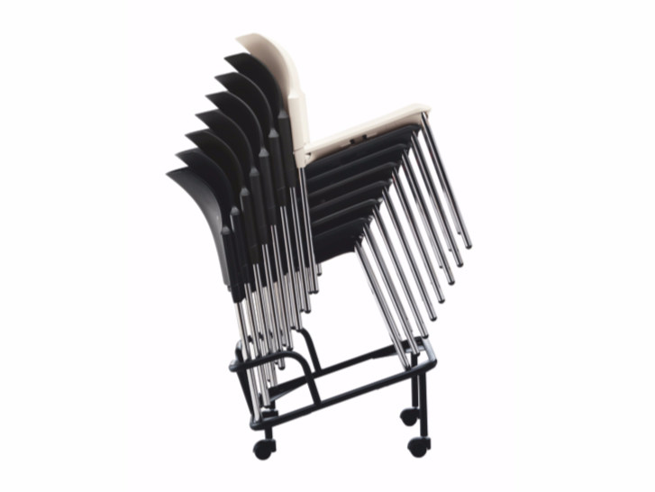 Stackable polypropylene chair COLLEGE | Stackable chair by Quadrifoglio