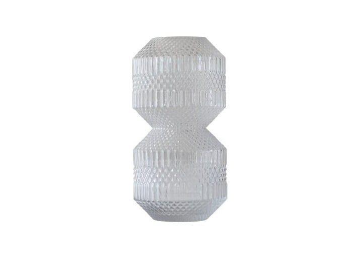 Glass vase STACKED by Specktrum
