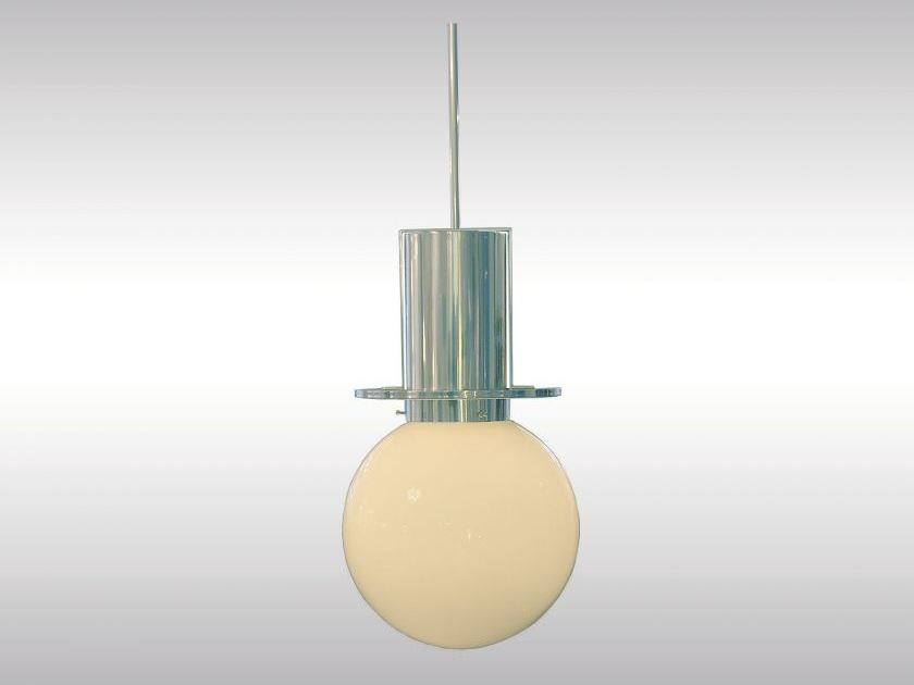 Classic style brass pendant lamp STADTBAHN by Woka Lamps Vienna
