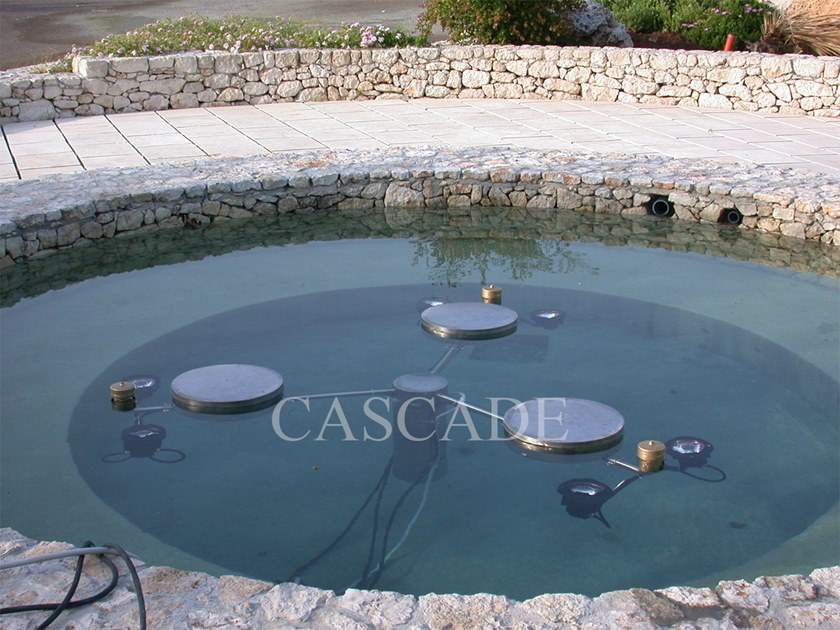 Stainless steel Accessory for fountain Stainless steel floats for fountains by CASCADE