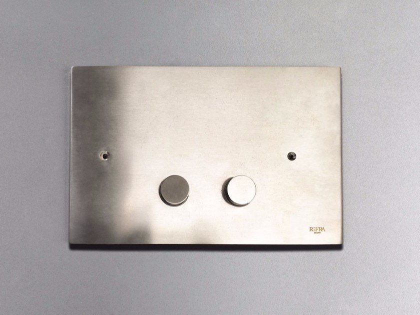 Stainless steel flush plate 4200161/2 | Flush plate by RIFRA