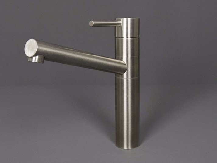 Countertop stainless steel kitchen mixer tap with swivel spout 3200031/2 | Kitchen mixer tap by RIFRA