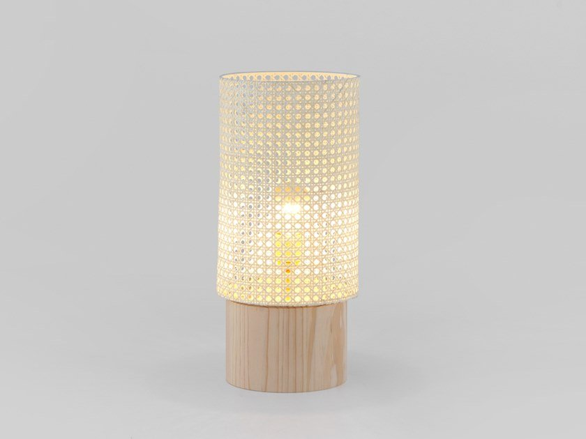 Wooden table lamp STAN WOOD | Table lamp by Aromas del Campo