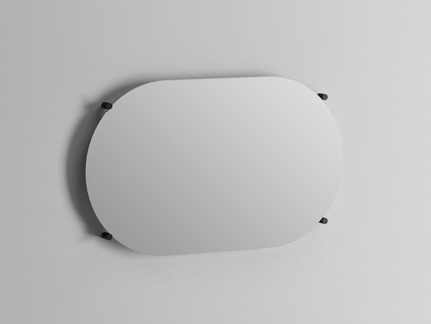 Oval wall-mounted mirror STAND | Oval mirror by Ex.t