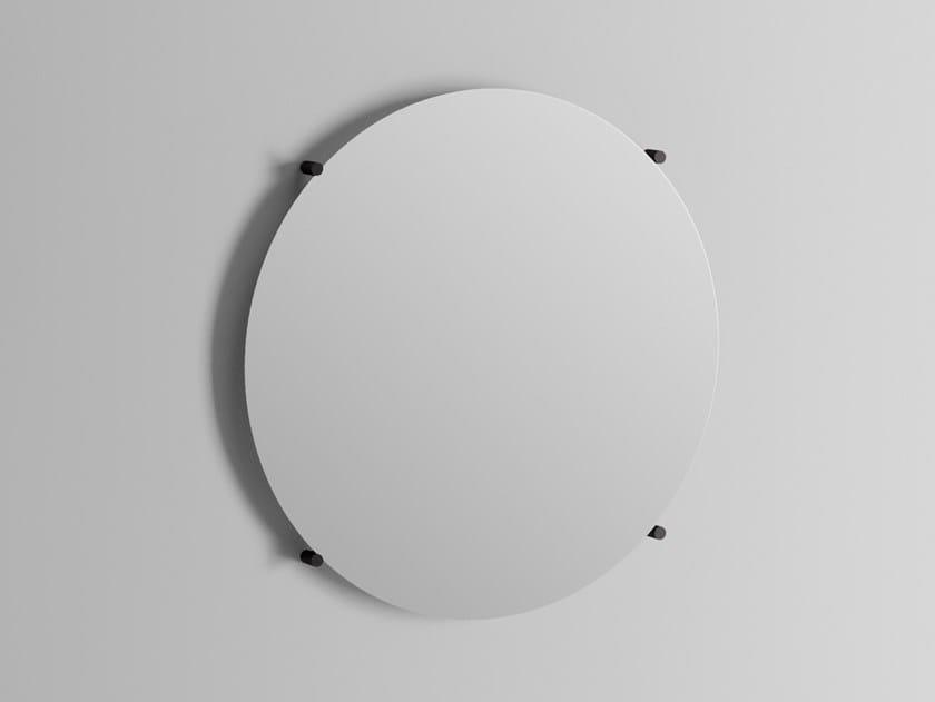 Round wall-mounted mirror STAND | Round mirror by Ex.t