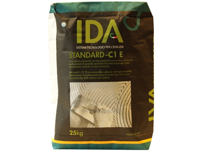 Cement adhesive for flooring STANDARD - C1E by IDA