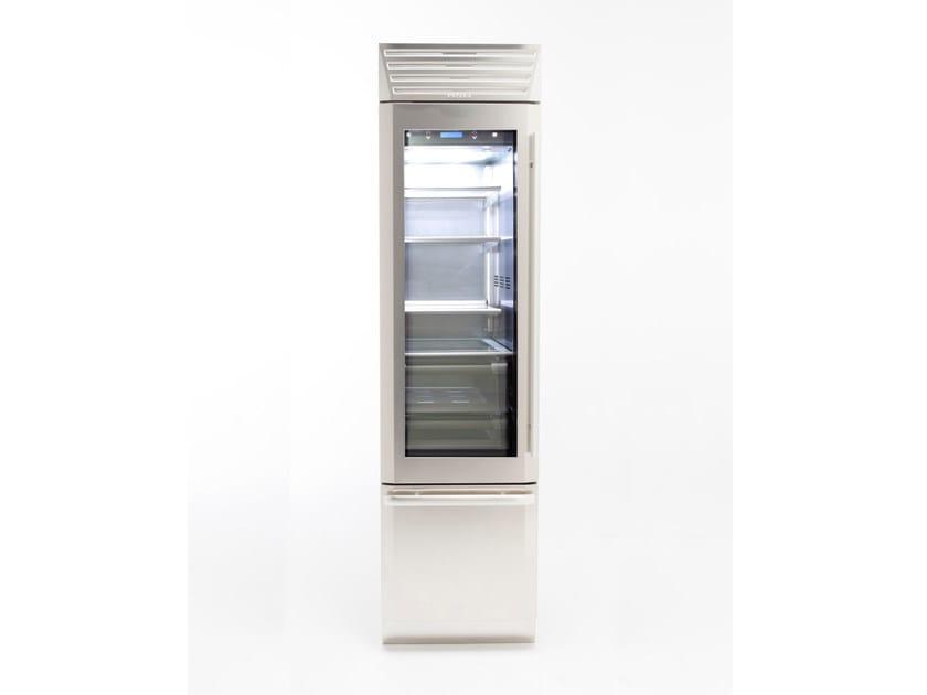 Refrigerator with glass door with freezer STANDPLUS 60 | Refrigerator with glass door by FHIABA