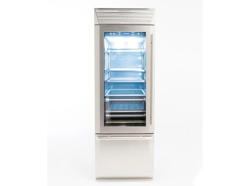Refrigerator with glass door with freezer STANDPLUS 75 | Refrigerator with glass door by FHIABA