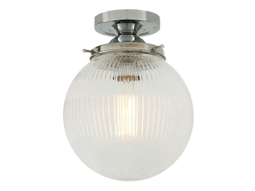 Handmade glass ceiling lamp STANLEY HOLOPHANE 20CM GLOBE | Ceiling lamp by Mullan Lighting