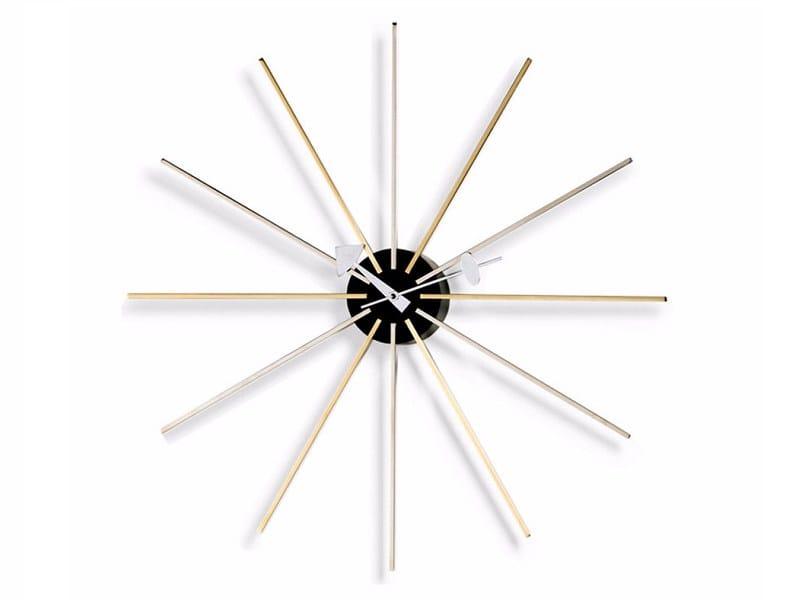Wall-mounted clock STAR CLOCK by Vitra