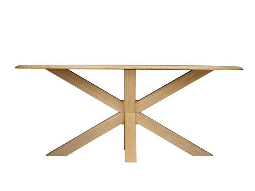 Rectangular wooden table STAR | Rectangular table by Natisa