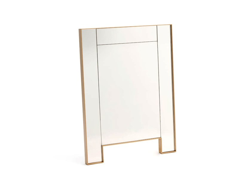Rectangular wall-mounted mirror STAR | Wall-mounted mirror by COEDITION