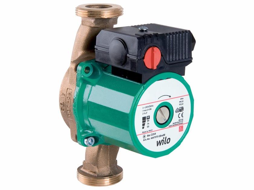 Pompa di circolazione a rotore bagnato STAR Z by WILO Italia