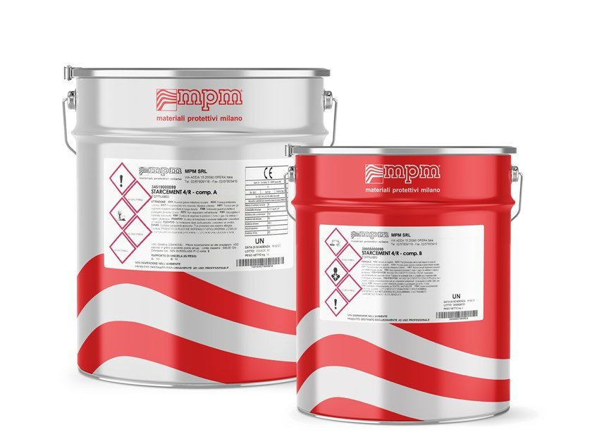 Resina epossidica pura con induritore STARCEMENT 4R by MPM